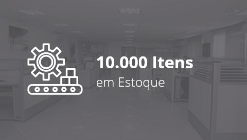 10.000 Itens em Estoque